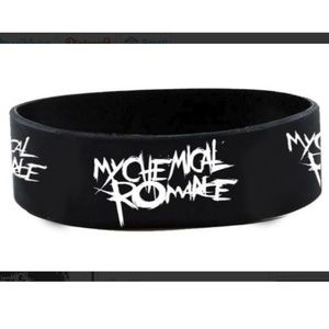 Jewelry - 1 NEW MY CHEMICAL ROMANCE BRACELET BAND WRISTBAND